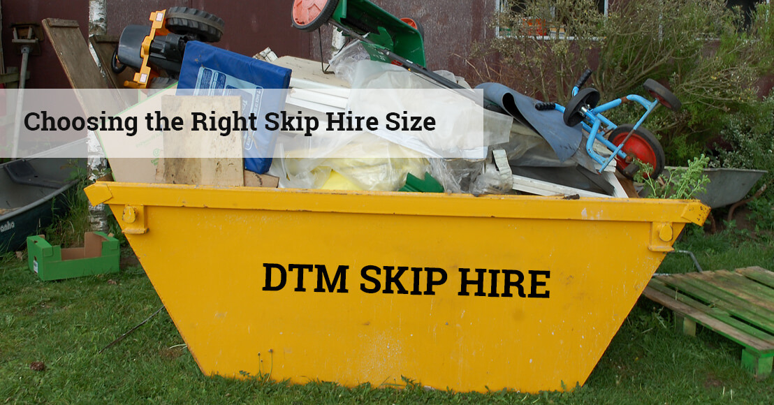 A Guide to Choosing the Right Skip Hire Size for Waste Management