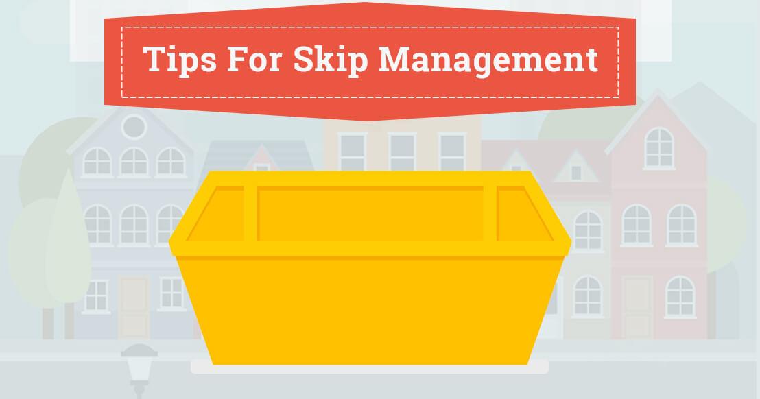 Tips For Skip Management   Infographic