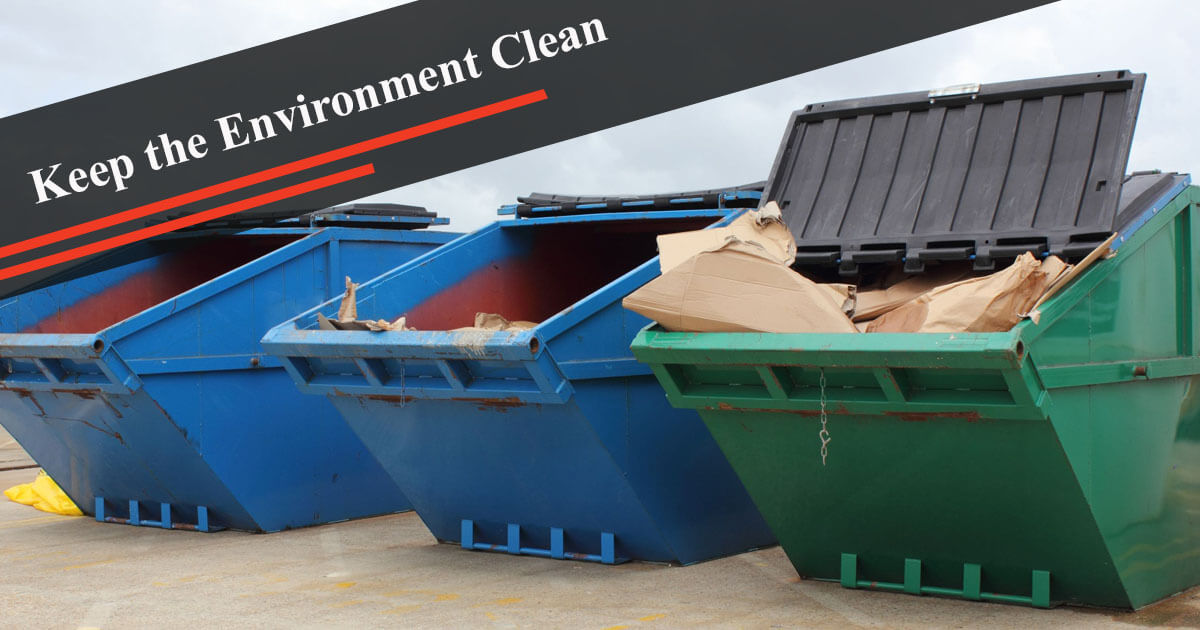 Take Advantage of DTM Skips Services to Keep Your Environment Clean