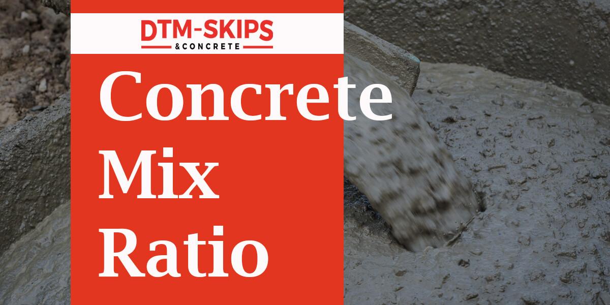 How To Correctly Mix Concrete? Concrete Mix Ratio